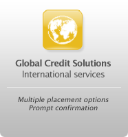 Global Credit Solutions - International services